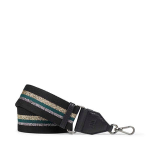 Markberg Black, Dark Green and Metallic Finlay Guitar Strap