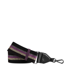 Markberg Black and Purple Finlay Guitar Strap