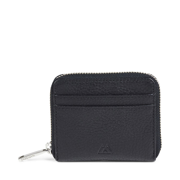 Markberg Black Leather Harper Wallet