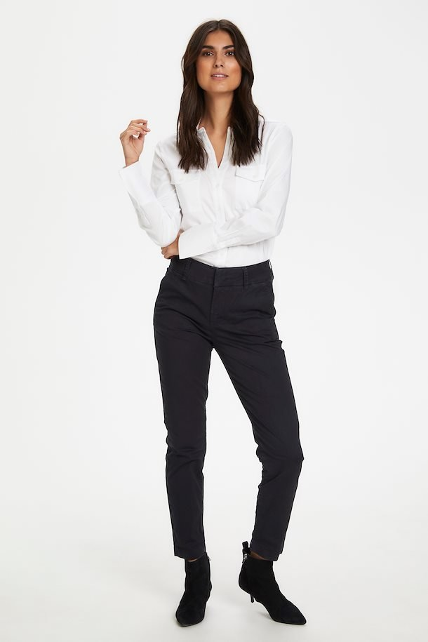 Part Two Black Relaxed Fit Trouser