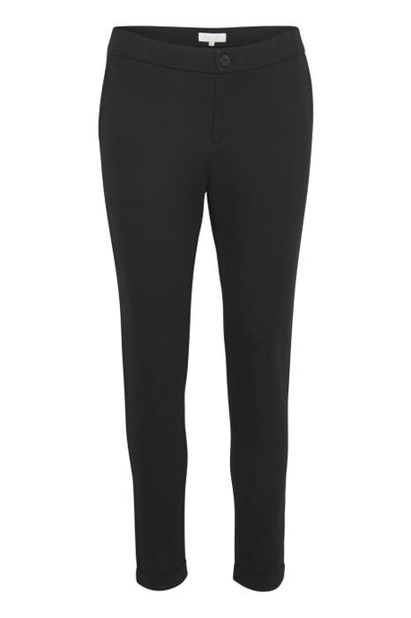 Part Two Black Fitted Trouser