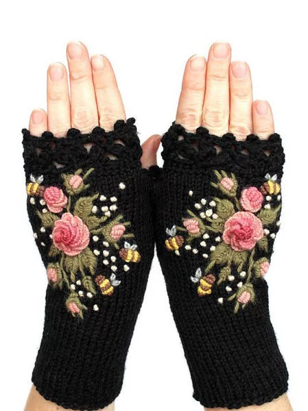 Women Casual Gloves & Mittens All Season Vintage Casual