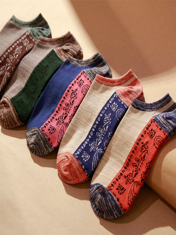 Vintage Breathable Warm Statement Tribal Casual Socks