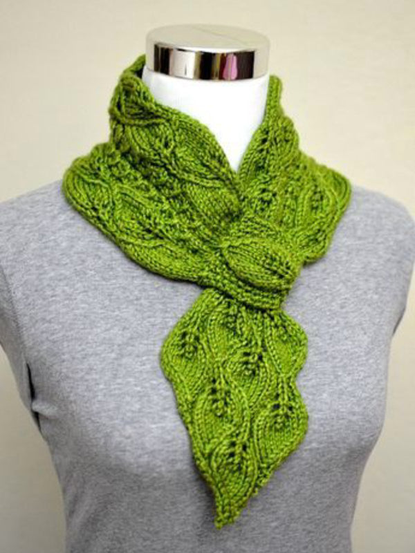 Damensein Khaki Scarf Knitted Fall Accessories