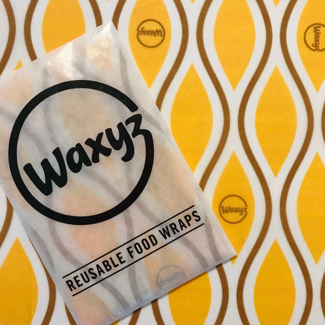 Waxyz reusable vegan food wrap