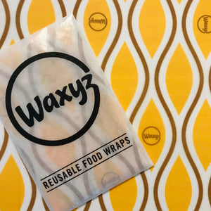 yellow diamond eco reusable food wrap