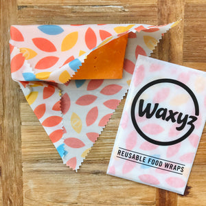 keeping cheese fresher for longer with orange leaf reusable waxyz wraps
