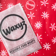 Load image into Gallery viewer, Waxyz Red Daisy wax food wrap