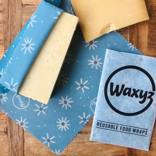 Daisy Wax Waxyz wrap with cheese