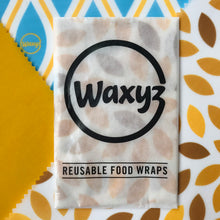 Load image into Gallery viewer, Waxyz Triple Pack Wax Wraps. Assorted colours