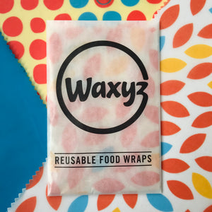 Waxyz triple pack wax wraps by bplasticfree
