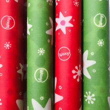 Load image into Gallery viewer, Waxyz reusable wax food wrap in Christmas design.