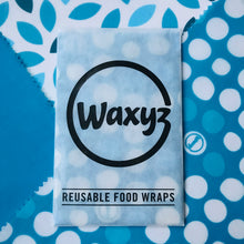 Load image into Gallery viewer, Waxyz Triple Pack Wax Wraps. Blues