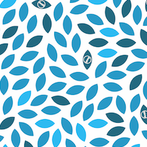 Load image into Gallery viewer, Blue leaf waxyz wrap design of wax food wrap