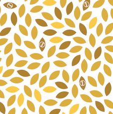 Yellow leaf design Waxyz reuable food wrap