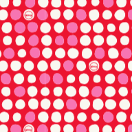 Load image into Gallery viewer, Go Dotty - Red - Small - Bplasticfree