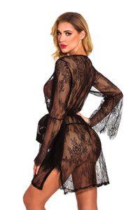 Lace See Through Babydoll