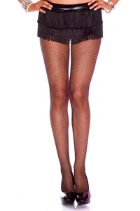 Glittery Fishnet Pantyhose by Music Legs