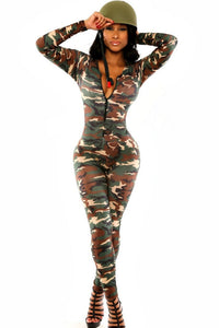 Army Solider Catsuit
