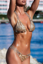 Load image into Gallery viewer, Sequins Bikini Set