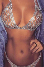 Load image into Gallery viewer, Crystal Bra Set