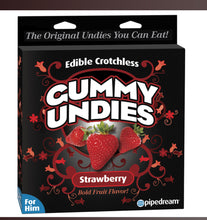 Load image into Gallery viewer, Edible Crotchless Gummy Undies