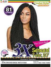 Afri 3X Senegal Twist 20