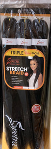 "Spetra Pre-stretched 25"" Triple Pack"