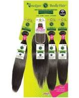 Janet Brazilian Straight 3pcs (16,18,20)+4x4 Closure OET1B/30