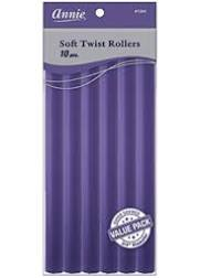 Annie Soft Twist Rollers Purple