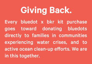 Every purchase gives back.