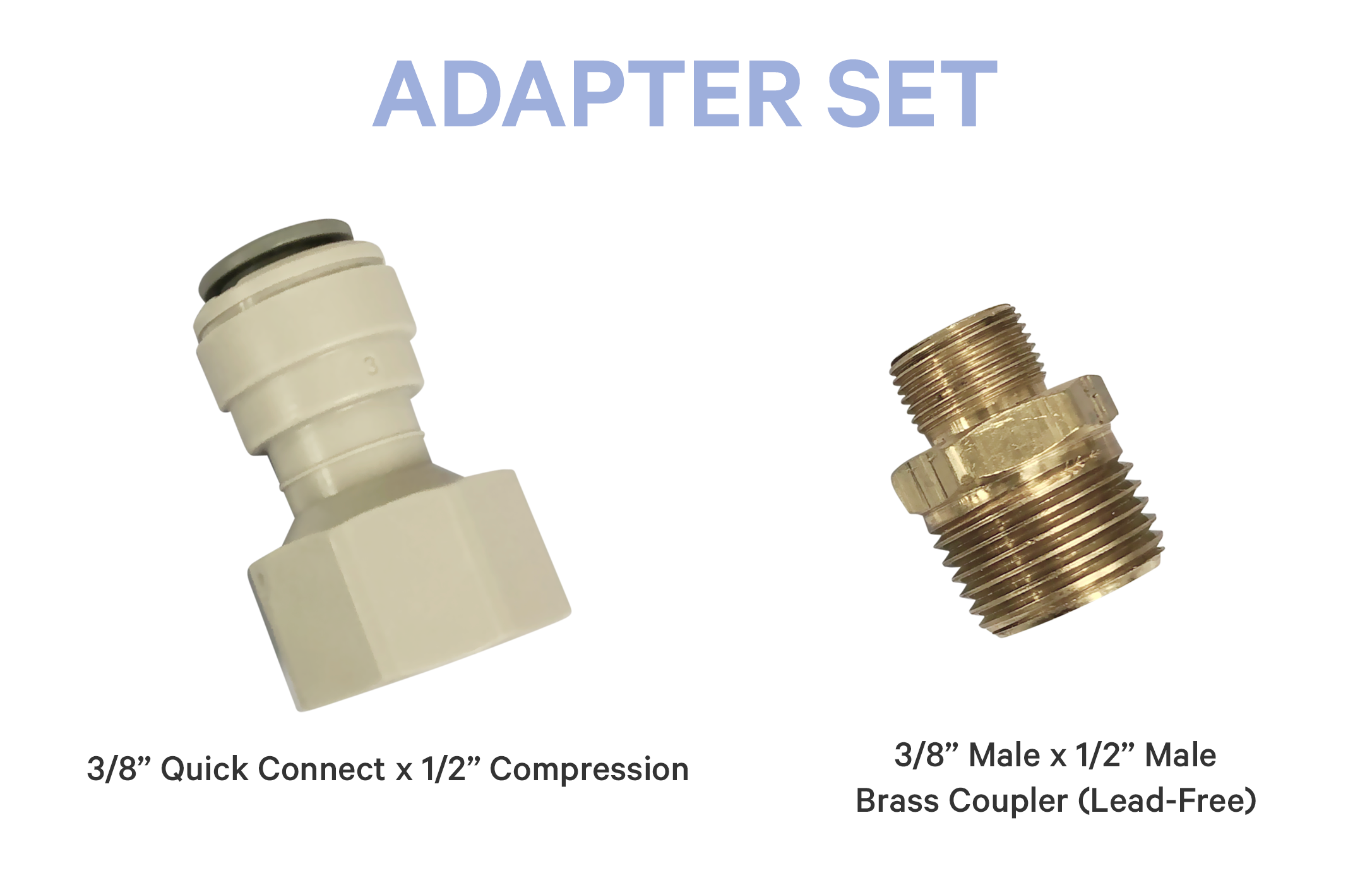 Adapter Set (Includes 2 Adapters)