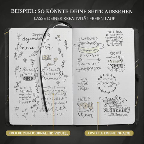 "Bullet Journal PLUS ""NACHTGOLD"""