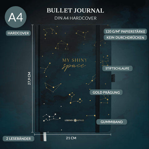 "Bullet Journal PLUS ""STARDUST"""