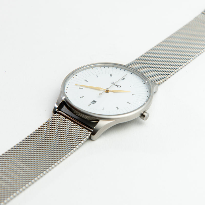 SCHO Classic Brushed Silver III