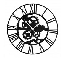 Load image into Gallery viewer, Skeletal Industrial Style Wall Clock
