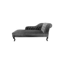 Load image into Gallery viewer, Grey Velvet Chesterfield
