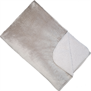 Cosy Silver Throw - Other Colours Available