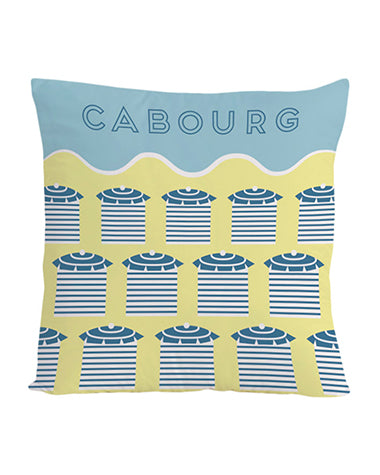 Coussin 40x40cm - Normandie Cabourg