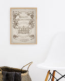 Affiche - Vignoble Bordelais Grand Domaine