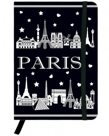 Carnet - Skyline de Paris
