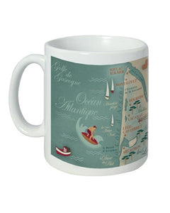 Mug - Bordelais Carte