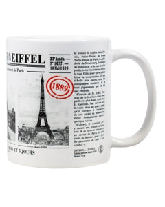 Mug - Journal de la tour Eiffel