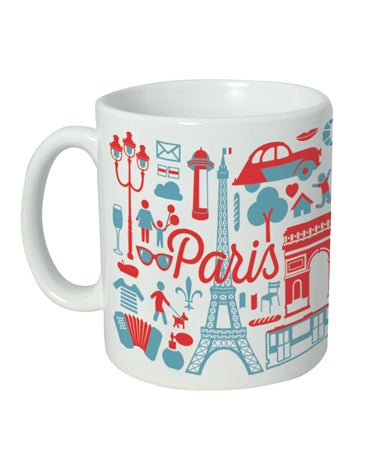Mug - Paris Icons