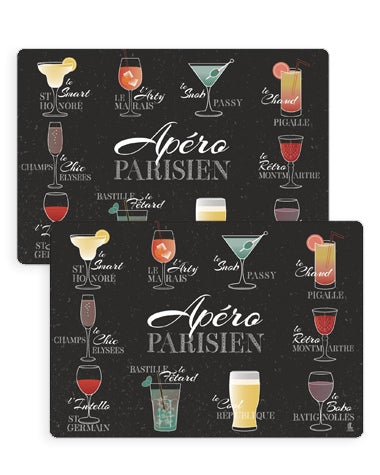 Set de table - Apéro Parisien