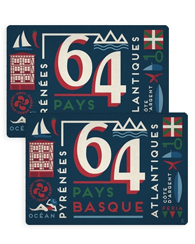 Set de table - Pays Basque 64