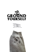 Load image into Gallery viewer, PRE ORDER: GREY GROUND YOURSELF CREWNECK SWEATER