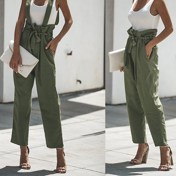 Women Waist-Lined Pants