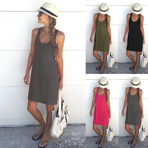 Beach Tanks Dress
