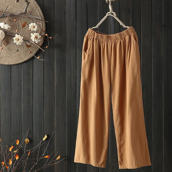 Casual Loose Cotton&Linen Harem Pants